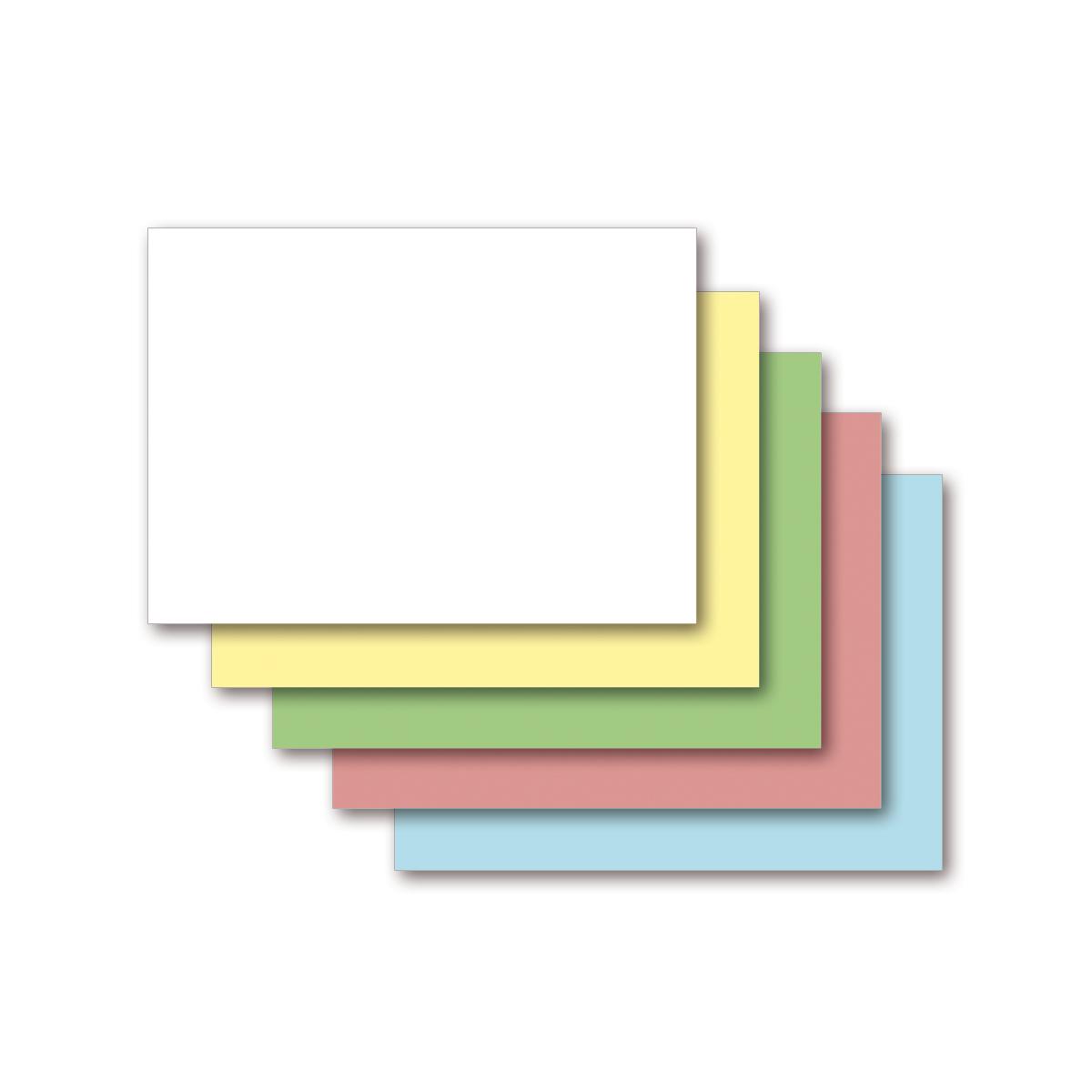 kariert farbig 1000 Karteikarten DIN A8
