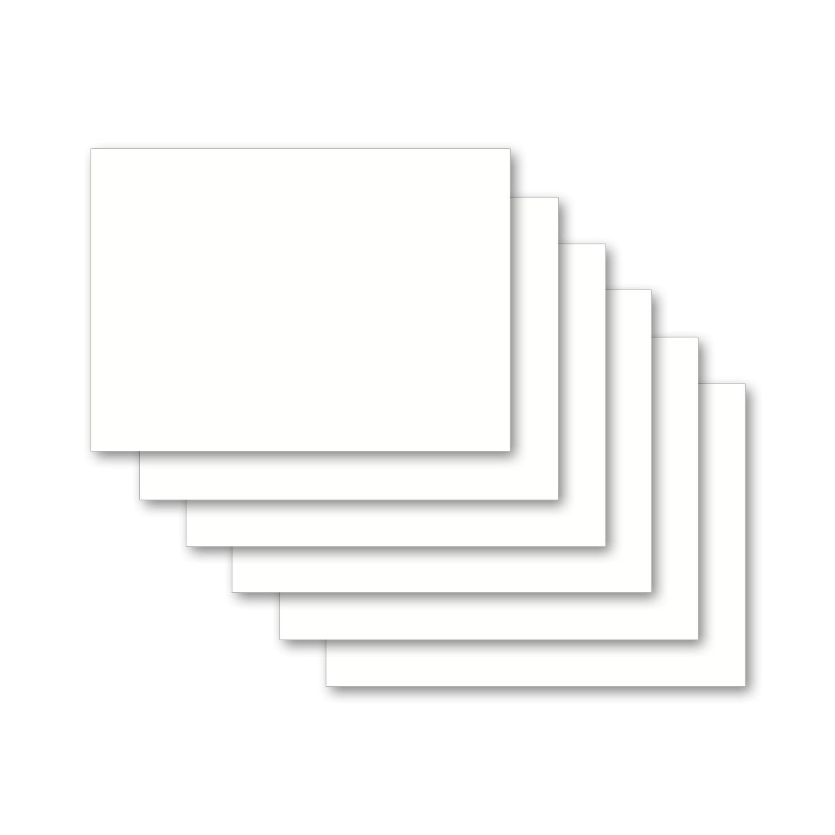 Karteikarten 500 St/ück A7 farbig blanko
